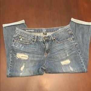 A.n.a. Boyfriend Jeans Petite